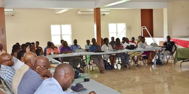 'St. Kitts & Nevis National Dialogue on Agriculture