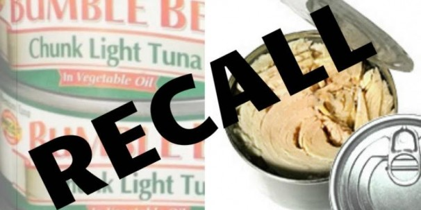 'Public Advisory – Bumble Bee and Chicken of the Sea Tuna Products Recalled in the USA