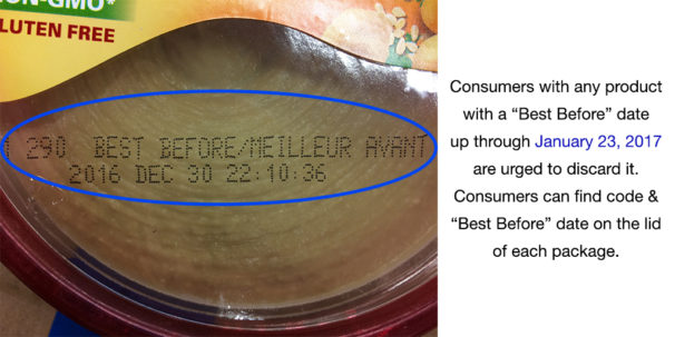'Sabra Dipping Company Issues Voluntary Recall Of Certain Hummus Products Because Of Possible Health Risks