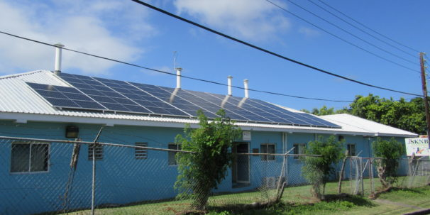 'SKNBS EXTENDS BUILDING AND INNOVATES WITH SOLAR ENERGY